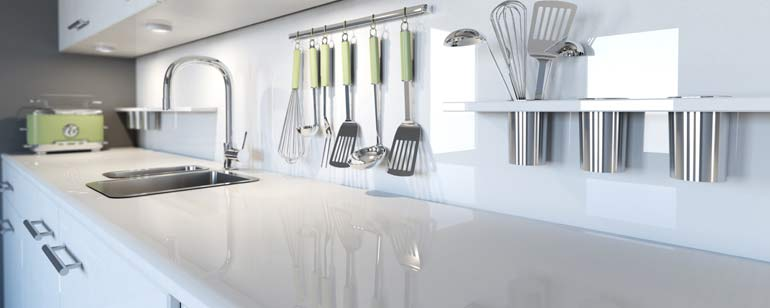 Keuken afkitten