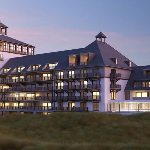 Uniek hotel aan zee
